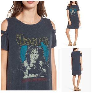 Doors T-Shirt Dress Distressed Finish Size: Small
